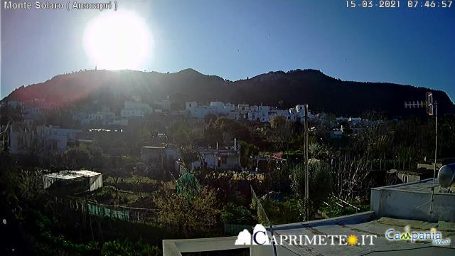 Веб камера острова Капри