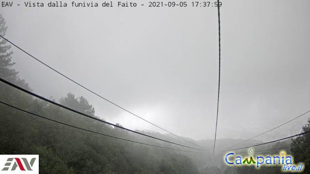 Funivia Faito (NA) live Webcam - Ultima immagine ripresa