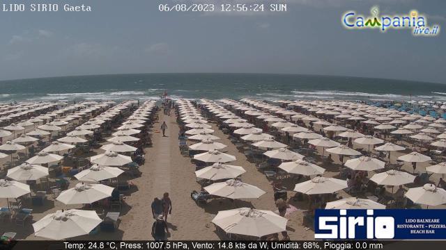 Webcam Live Lido Sirio