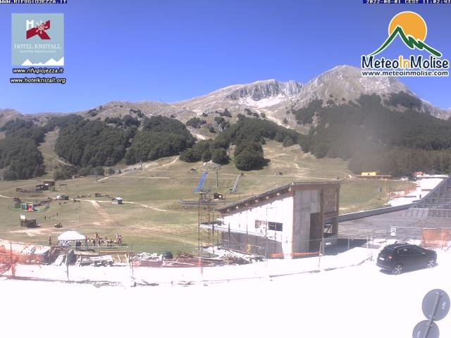 Campitello Matese (CB) live Webcam - Ultima immagine ripresa