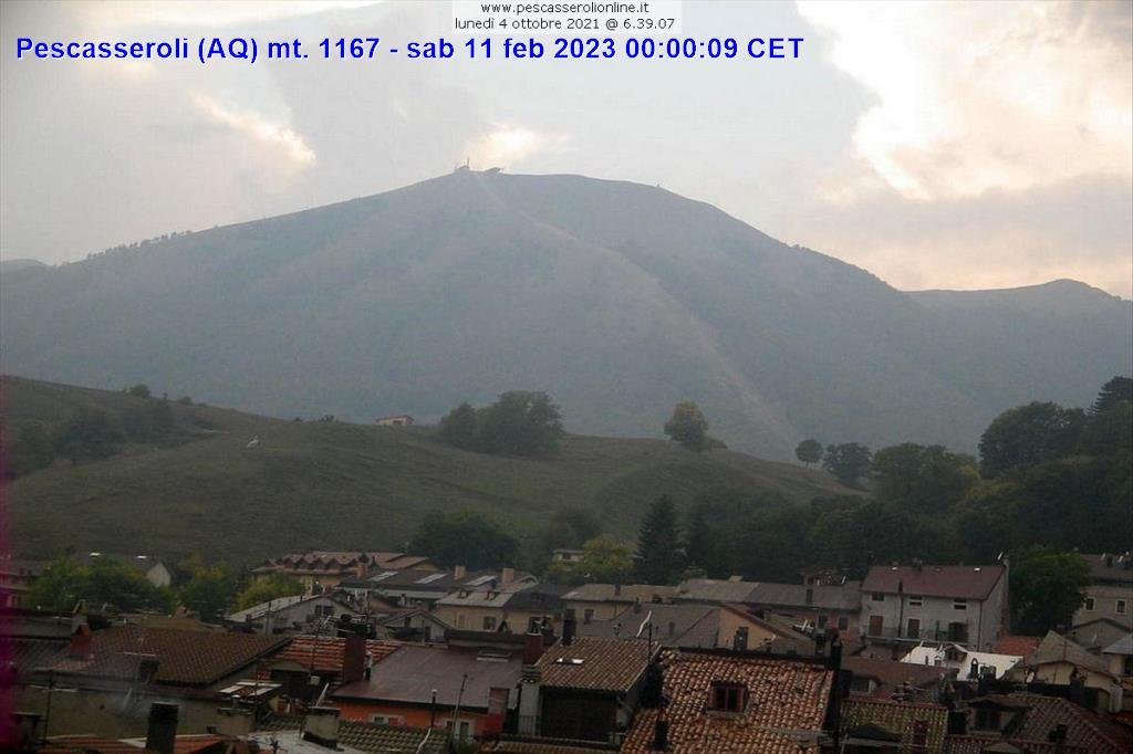 Pescasseroli (AQ) live Webcam - Webcam montagna - Campanialive.it