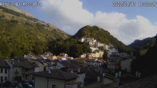 Webcam Rocca Pia (AQ) 1181m slm