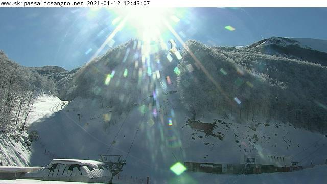 Monte Pratello (AQ) live Webcam - Ultima immagine ripresa