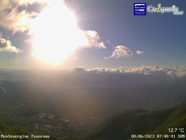 WebCam Montevergine, Avellino