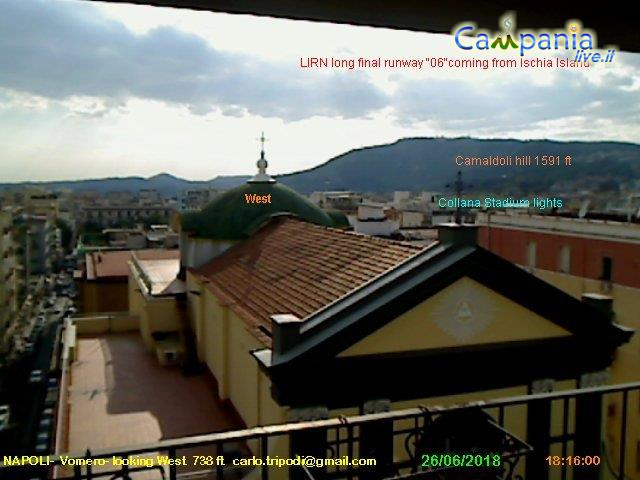 Webcam  Napoli Vomero