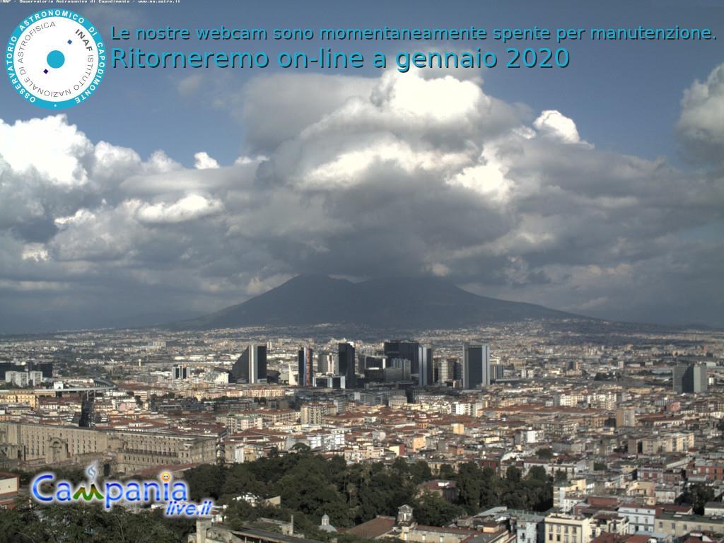 Webcam Napoli Centro e Vesuvio, Campania