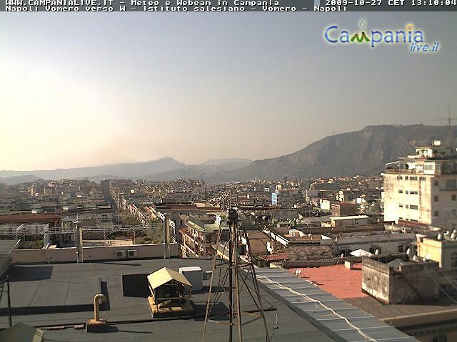 Webcam nei dintorni di Napoli in Campania