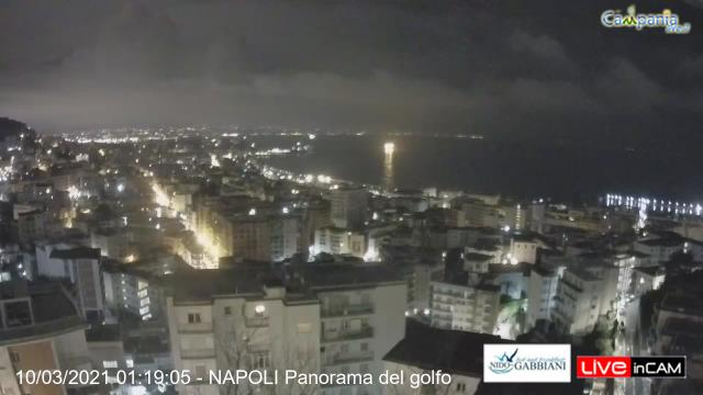 Webcam Napoli Golfo