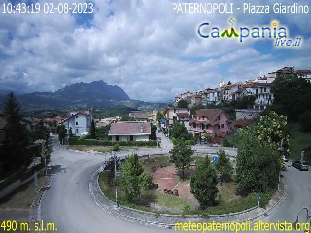 Paternopoli (AV) live Webcam - Ultima immagine ripresa