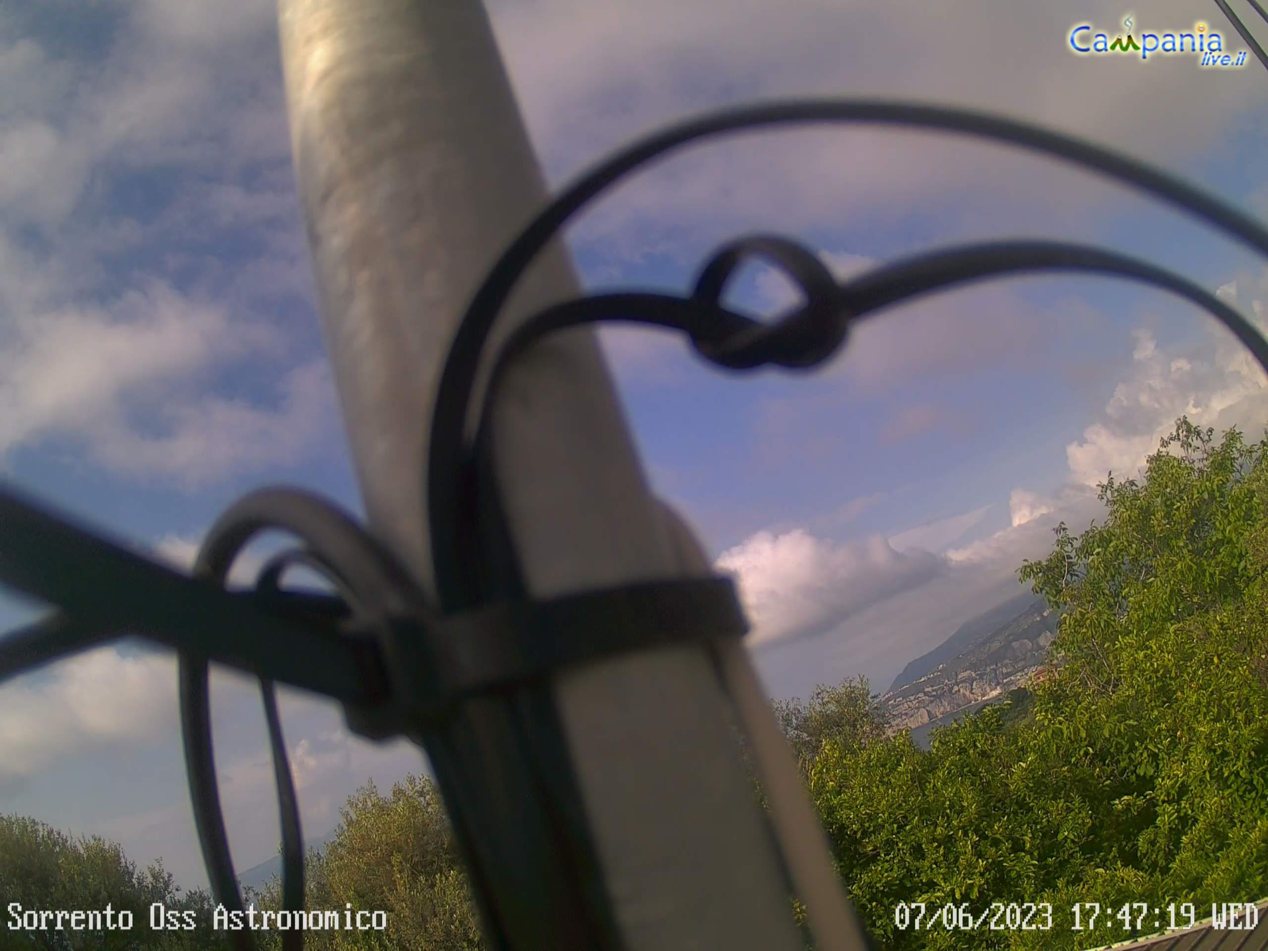"Webcam Osservatorio Astronomico \""Nastro Verde\"""